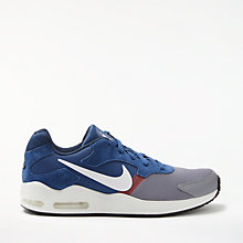 Buy Nike Air Max Guile Men's Trainer, Grey/Navy Online at johnlewis.com