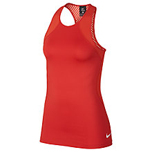 Buy Nike Pro HyperCool Training Tank, Noise Aqua/White Online at johnlewis.com