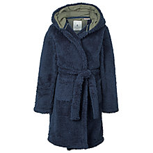 Buy Fat Face Children's Bison Robe, Navy Online at johnlewis.com