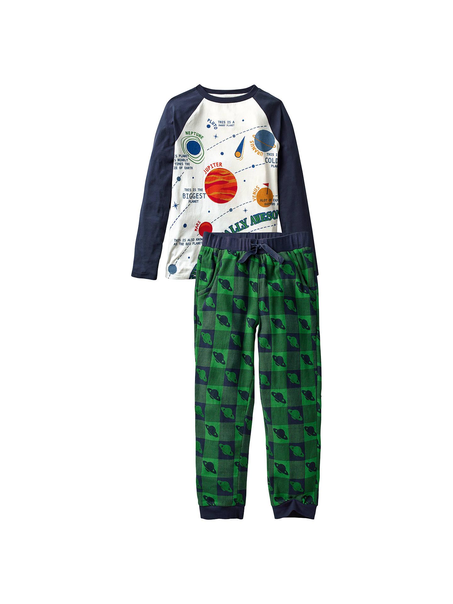 d371805a3766 Buy Fat Face Children s Alien Check Pyjamas