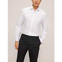 Buy Smyth & Gibson Micro Dobby Liberty Print Slim Fit Shirt, White Online at johnlewis.com