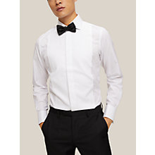 Buy Smyth & Gibson Non Iron Marcella Slim Fit Dress Shirt, White Online at johnlewis.com