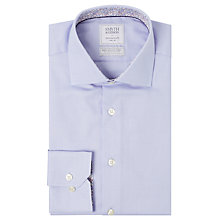 Buy Smyth & Gibson Textured Pique Liberty Print Contemporary Fit Shirt, Sky Online at johnlewis.com
