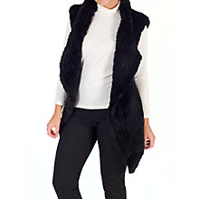 Buy Chesca Faux Fur Gillet Online at johnlewis.com