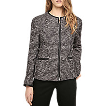 Buy Gerard Darel Odette Tweed Jacket, Black Online at johnlewis.com