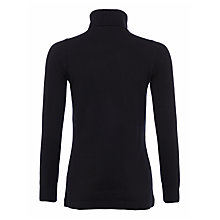 Buy French Connection Babysoft Solid Turtleneck Jumper, Black Online at johnlewis.com