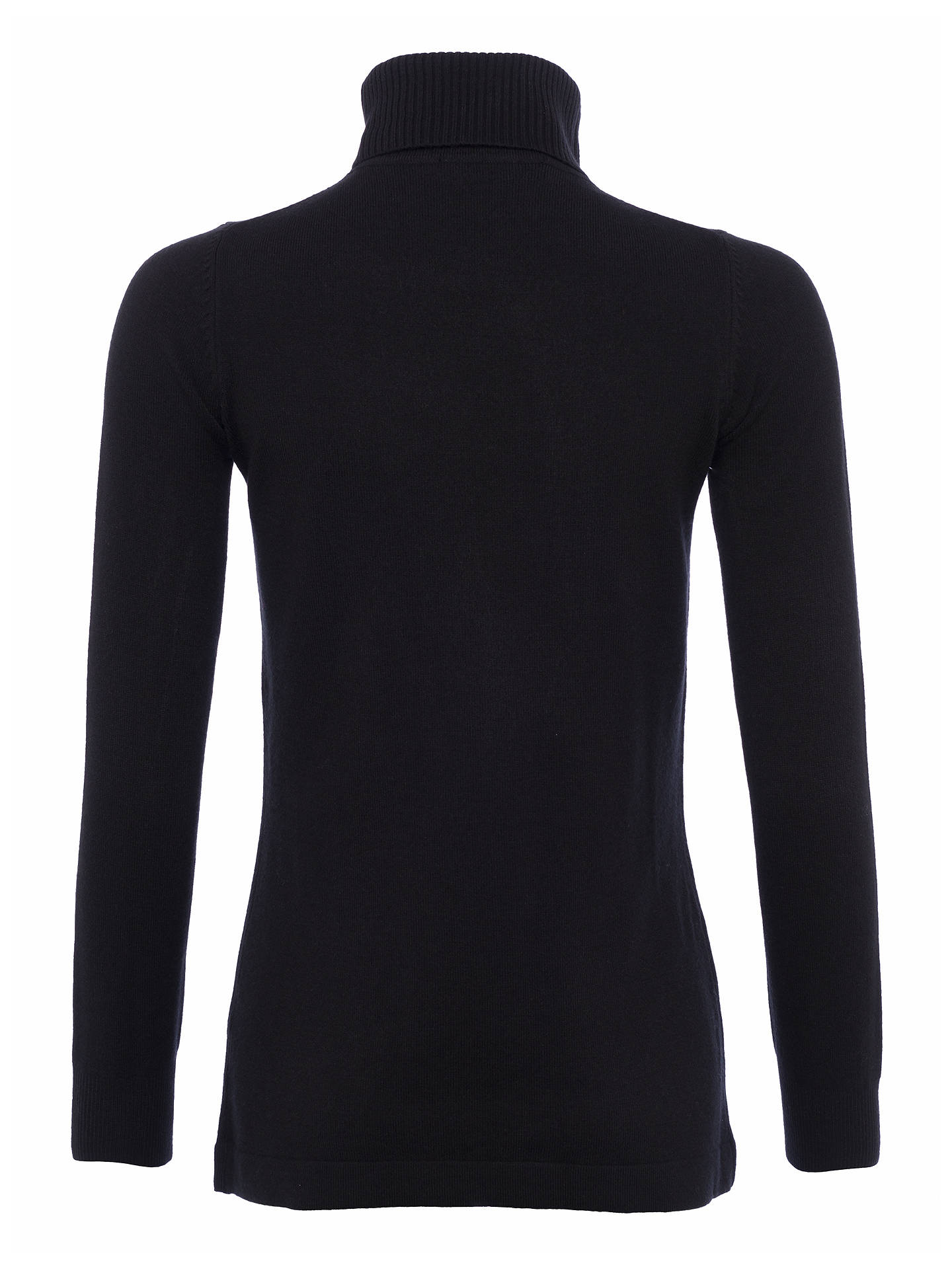 BuyFrench Connection Babysoft Solid Turtleneck Jumper, Black, XS Online at johnlewis.com