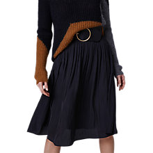 Buy Gerard Darel Flared Skirt, Black Online at johnlewis.com