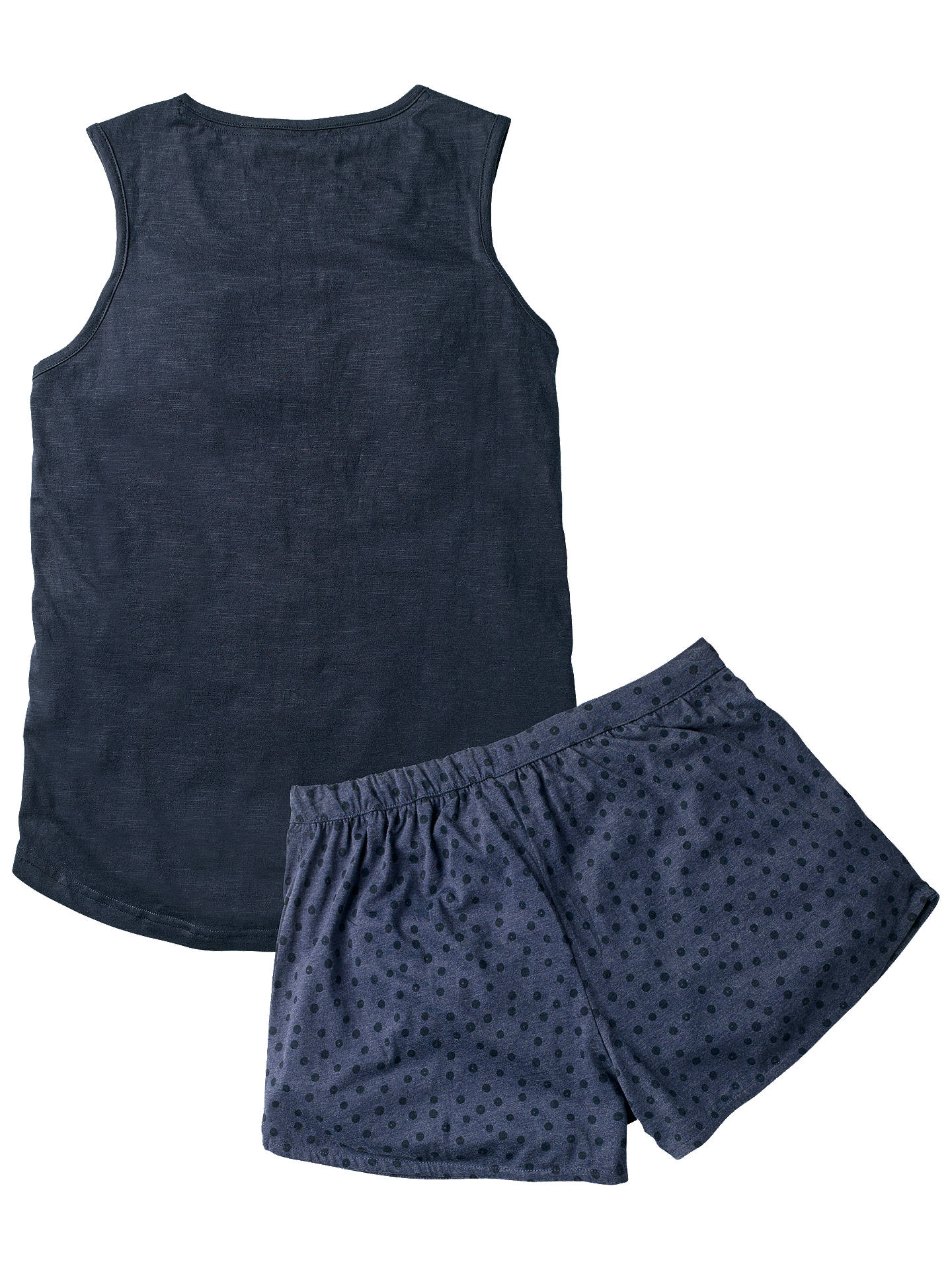 BuyFat Face Oh Deer Pyjama Short And Top Set, Navy, 6 Online at johnlewis.com