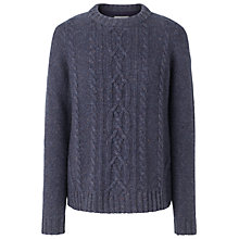 Buy Fat Face Esther Cashmere Cable Jumper Online at johnlewis.com