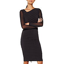 Buy Mint Velvet Bandage Dress, Dark Grey Online at johnlewis.com