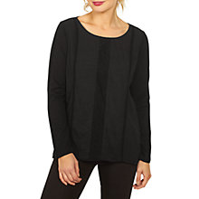 Buy Fat Face Copper & Black Meredith Lace Panel Top Online at johnlewis.com