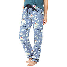 Buy Fat Face Iceberg Animal Classic Pyjama Bottoms, Denim Online at johnlewis.com