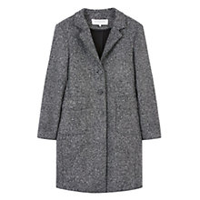 Buy Gerard Darel Golan Coat, Grey Online at johnlewis.com