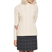 Buy Mint Velvet Check Mini Skirt, Grey Online at johnlewis.com