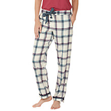 Buy Fat Face Ginny Grid Check Pyjama Bottoms Online at johnlewis.com