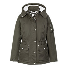Buy Fat Face Piccadilly Jacket, Khaki Online at johnlewis.com