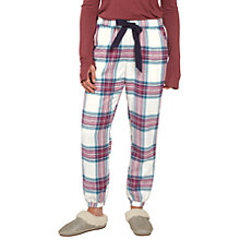 Buy Fat Face Check Cuffed Pyjama Bottoms Online at johnlewis.com