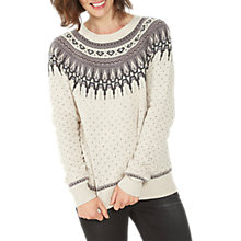 Buy Fat Face Farah Fair Isle Jumper Online at johnlewis.com