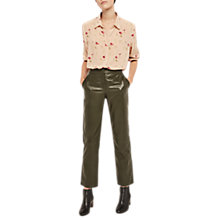 Buy Gerard Darel Sun Leather Trousers Online at johnlewis.com