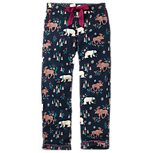 Buy Fat Face Polar Bear Classic Pyjama Bottoms, Navy Online at johnlewis.com