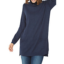 Buy Fat Face Poppy Longline Roll Neck Jumper Online at johnlewis.com