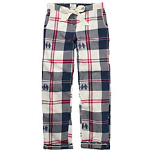 Buy Fat Face Penguin Jacquard Pyjama Bottoms, Multi Online at johnlewis.com