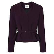 Buy L.K. Bennett Judi Hemmers Jacket, Loganberry Online at johnlewis.com