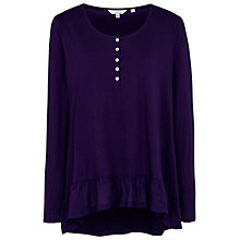 Buy Fat Face Priya Peplum T-Shirt Online at johnlewis.com