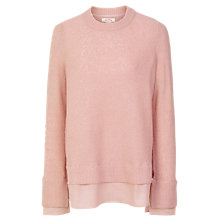 Buy Fat Face Sadie Woven Mix Jumper Online at johnlewis.com