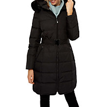 Buy Jaeger 3/4 Length Belted Puffer Coat Online at johnlewis.com