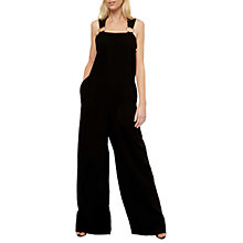 Buy Jaeger Laboratory Ring Strap Jumpsuit, Black Online at johnlewis.com
