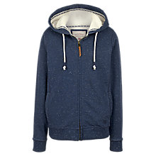 Buy Fat Face Kendal Borg Hoodie, Navy Online at johnlewis.com