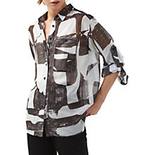 Buy Finery Aberdeen Grammar Print Blouse, Multi Online at johnlewis.com