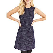 Buy Oasis Tweed Shift Dress, Multi Online at johnlewis.com