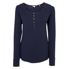 Buy Fat Face Skye Rib Henley Top Online at johnlewis.com