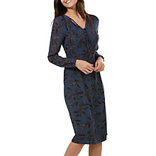 Buy Sugarhill Boutique Noor Floral Vine Midi Dress, Navy Online at johnlewis.com