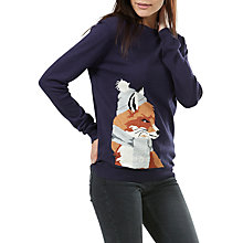 Buy Sugarhill Boutique Rita Winter Fox Jumper Online at johnlewis.com