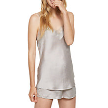Buy Hygge by Mint Velvet Satin Printed Short Pyjama Set, Multi Online at johnlewis.com