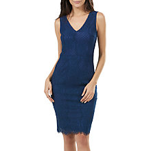 Buy Sugarhill Boutique Rimona Sleeveless Lace Dress, Petrol Blue Online at johnlewis.com