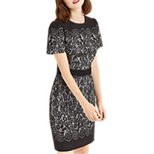 Buy Oasis NTU Lace Shift Dress, Multi Online at johnlewis.com