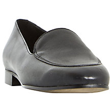 Buy Dune Black Globe Loafers Online at johnlewis.com
