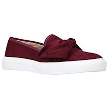 Buy Carvela Just Bow Slip On Trainers Online at johnlewis.com