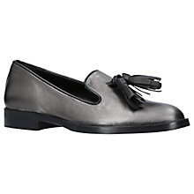Buy Carvela Livia Tassel Loafers, Gunmetal Online at johnlewis.com
