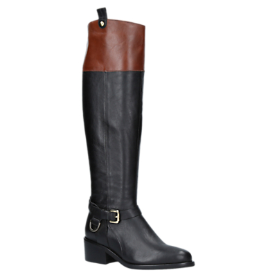 Product photo of Carvela whip knee length boots black leather
