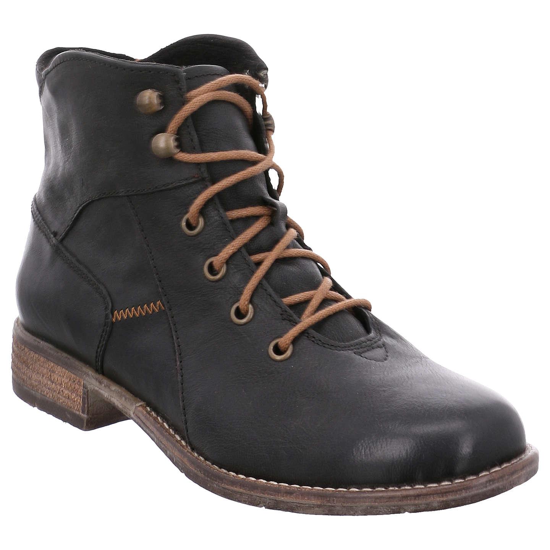 Josef Seibel Sienna 11 Block Heeled Ankle Boots Black Leather 3 Online At Johnlewis