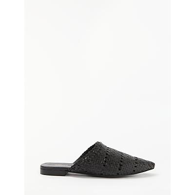 Modern Rarity Gitali Woven Backless Loafers