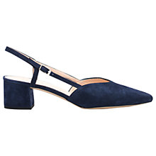Buy Unisa Jica Block Heeled Slingback Court Shoes Online at johnlewis.com
