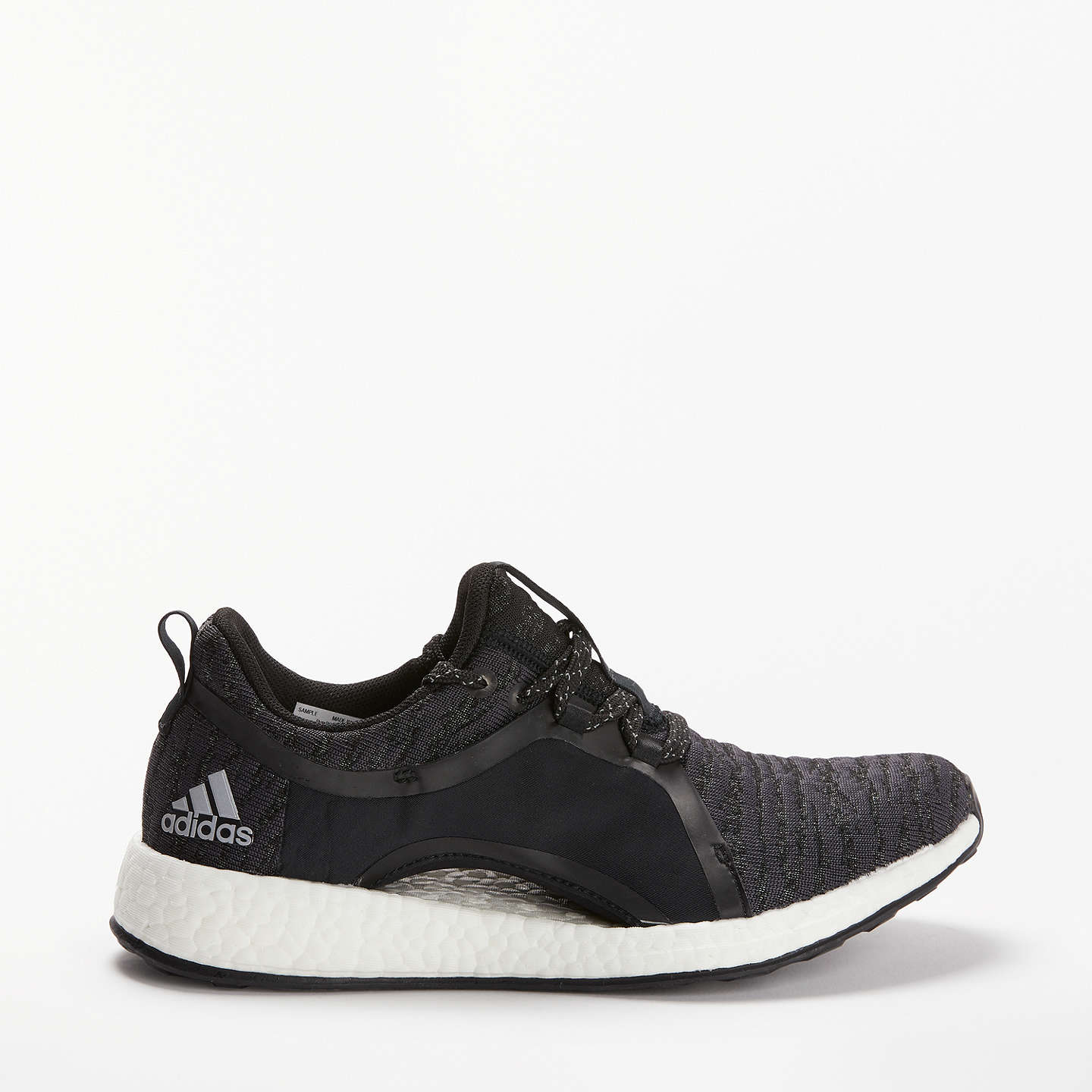 Buyadidas Pure Boost X Women's Running Shoes, Carbon Grey, 4 Online at  johnlewis.