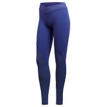 Buy adidas Ask Tech Training Tights, Ash Grey Online at johnlewis.com